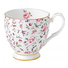 Rose Confetti Vintage Mug Small