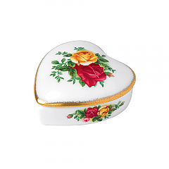 Royal Albert Old Country Roses Gorgeous Gifts Heart Box