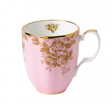 100 Years Teaware Mug-1960's Golden Roses