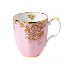 100 Years Teaware Mug-1960's Golden Roses