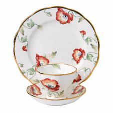 Royal Albert 100 Years Teaware Teacup, Saucer, Plate 1970