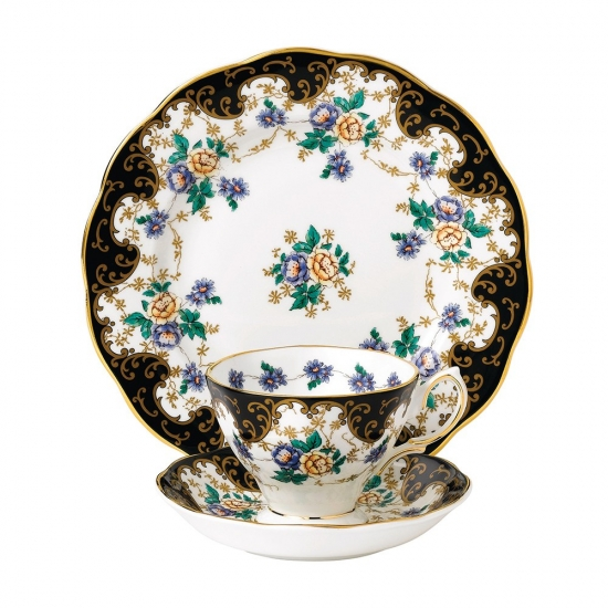 100 Years Teaware Teacup, Saucer, Plate 1910