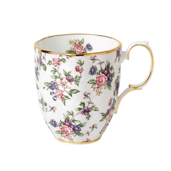 100 Years Teaware Mug-1940's English Chintz