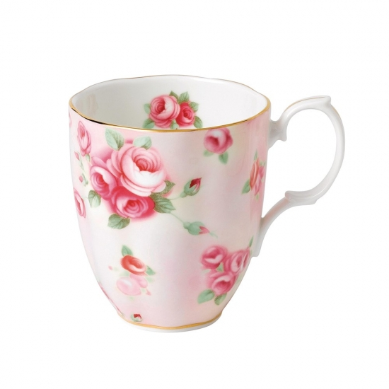 100 Years Teaware Mug-1980's Rose Blush