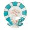 100 Years Teaware Teacup, Saucer, Plate 1930