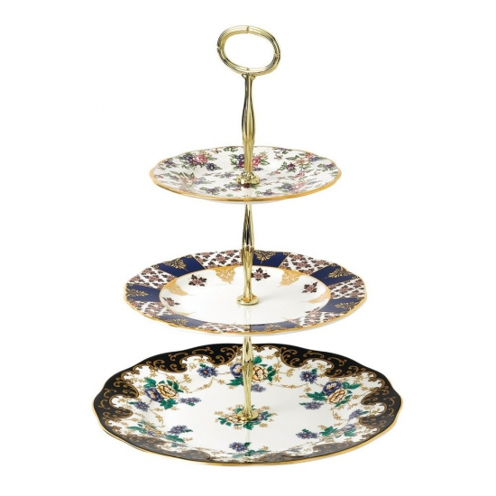 100 Years 3 Tier Cake Stand: 1900, 1910, 1940