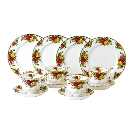 Old Country Roses 12 Piece Set