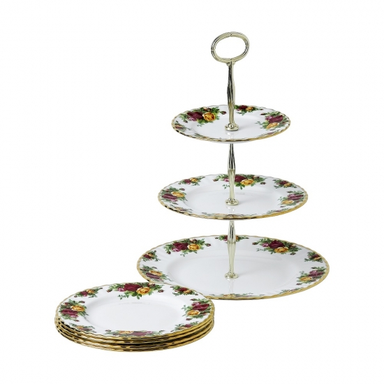 Old Country Roses 5 Piece Set