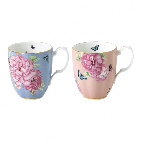 Miranda Kerr Friendship Hope and Tranquillity Mugs, Set of 2