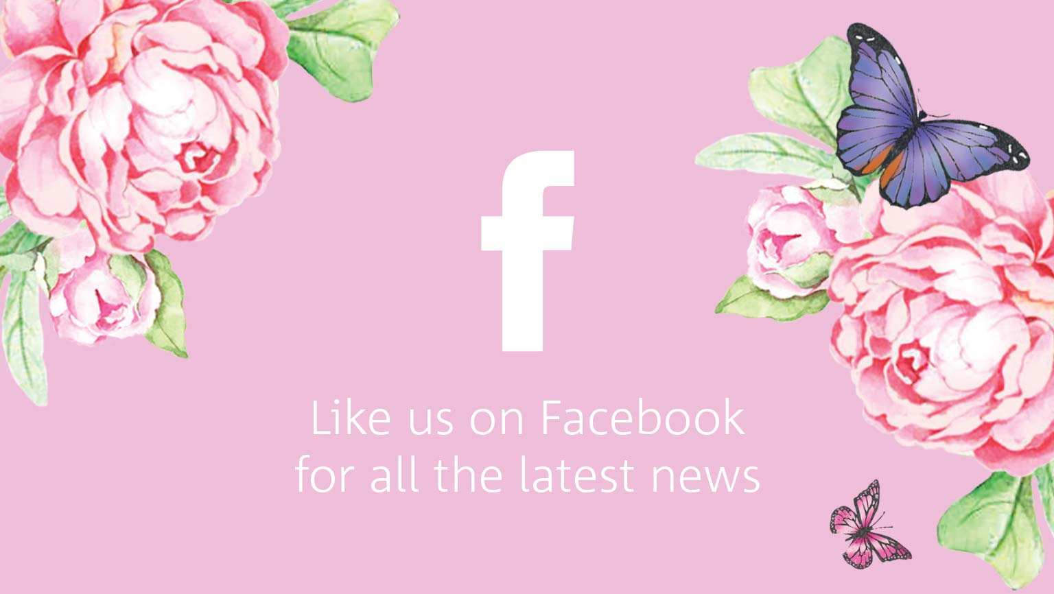 Like us on Facebook for all the latest news