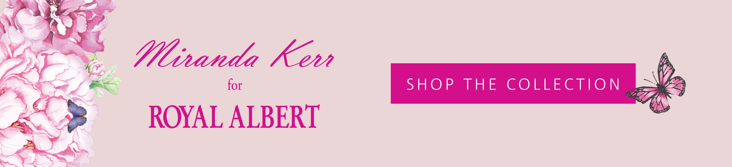 Miranda Kerr for Royal Albert // Shop the collection